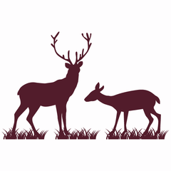 Deer & Stag Wall Sticker