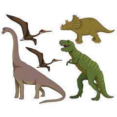 Dinosaurs Pack Wall Stickers