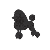 Poodle Dog Wall Sticker
