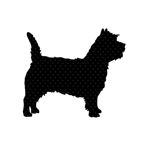 Scotty Dog Wall Sticker