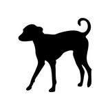 Grey Hound Dog Wall Sticker