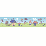 Fairy Border Wall Sticker - Wall Glamour