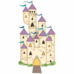 Fairytale Castle Wall Sticker