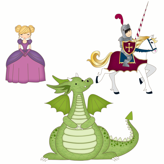 Fairytale Elements Wall Stickers - Wall Glamour