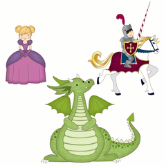 Fairytale Elements Wall Stickers