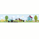 Farmyard Border Wall Sticker
