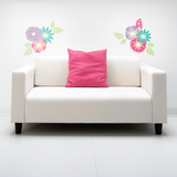 Flower Corners Wall Sticker