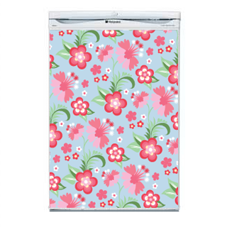 Flower Fridge Decal