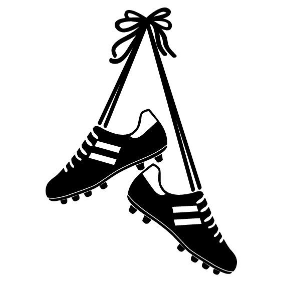 Football Boots Wall Sticker