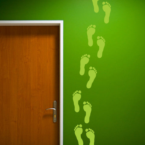 Footprints Wall Stickers - Wall Glamour