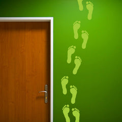 Footprints Wall Stickers