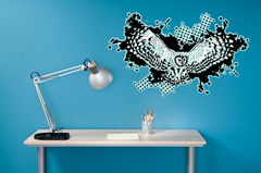 Great Grey Owl Wall Sticker