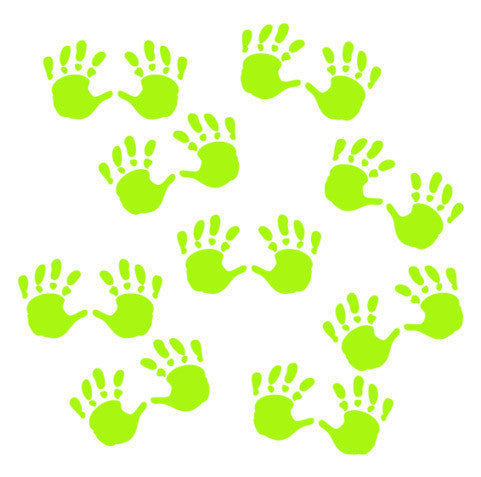 Kids Handprints Wall Stickers - Wall Glamour