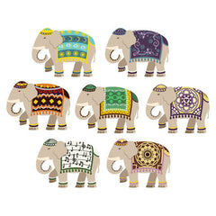Indian Elephant Wall Stickers
