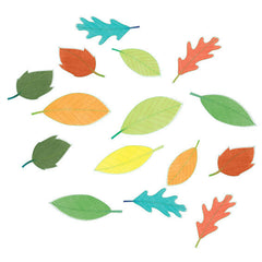 Leaves Wall Stickers Multicoloured
