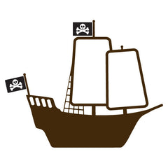 Pirate Ship Wall Sticker