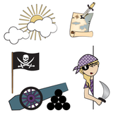 Pirate Wall Sticker
