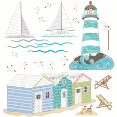 Seaside Wall Stickers