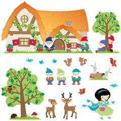 Snow White Wall Stickers