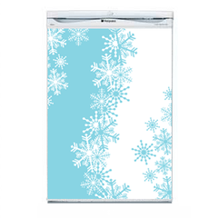 Snowflake Fridge Decal