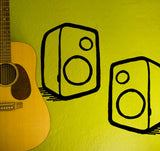 Speaker Wall Sticker
