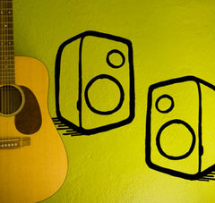 Speakers Wall Sticker