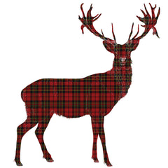 Tartan Stag, Owl, Fox and Rabbit Wall Sticker - Saver Set