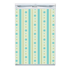Stripes and Stars Fridge Decal