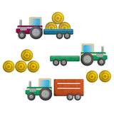 Tractor Wall Stickers Multicoloured