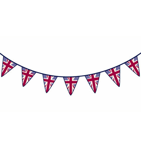 Union Jack Bunting Wall Stickers