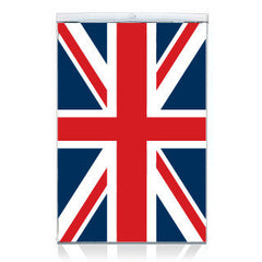Union Jack Fridge Decal Colour