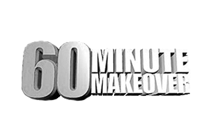 Featured on ITV's 60 Minute makeover