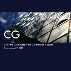 After the Crisis: Corporate Governance in Japan