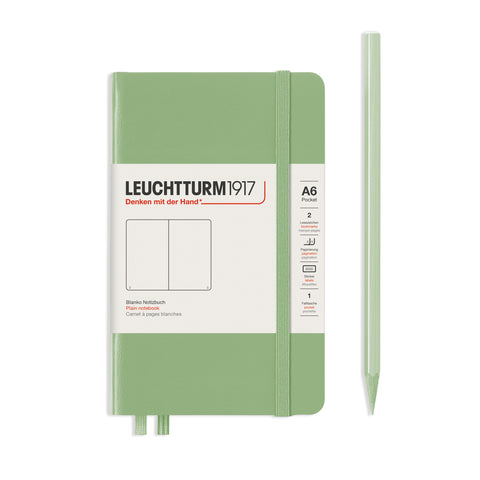 Leuchtturm1917 A6 Hardcover Notebook in Sage