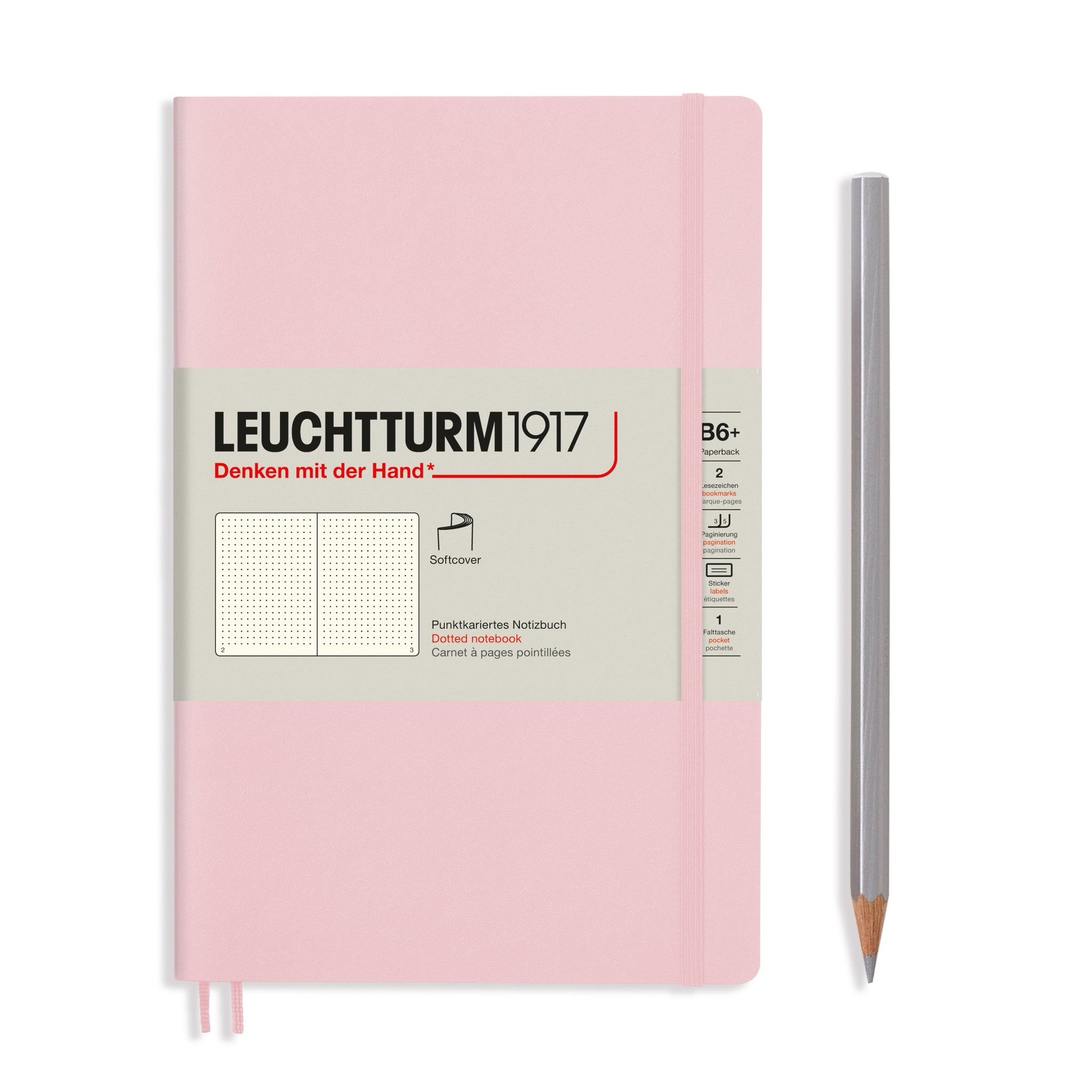 Leuchtturm1917 B6+ Softcover Notebook in Powder