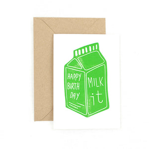 Happy Birthday - Milk It