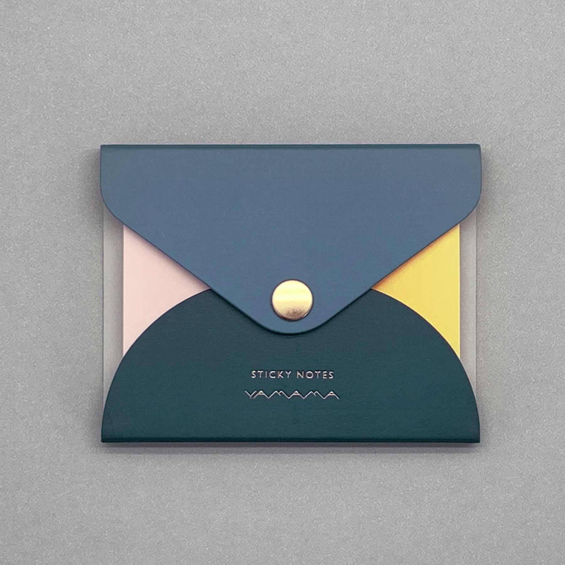 Premium Color Sticky Notes in Navy Cover