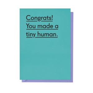 Congrats! You made a tiny human-Cards-twin pines-nóta póca