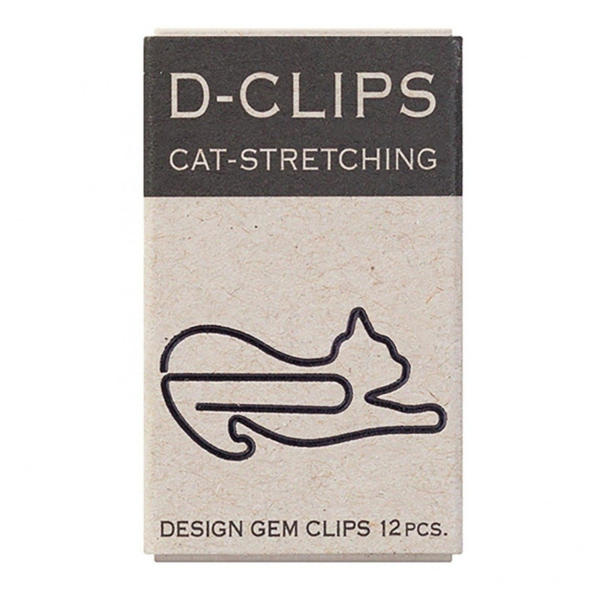 Cat Stretching Paper Clips