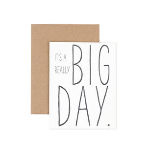 It's a Really Big Day-Cards-The Pear in Paper-nóta póca