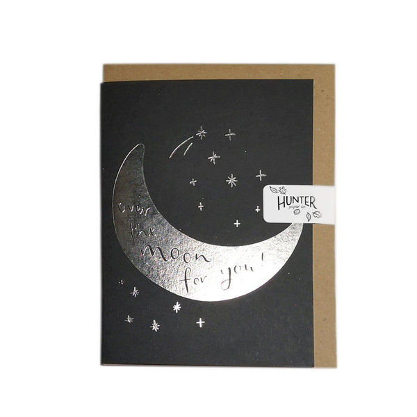 Over the Moon for You-Cards-Hunter Paper Co.-nóta póca