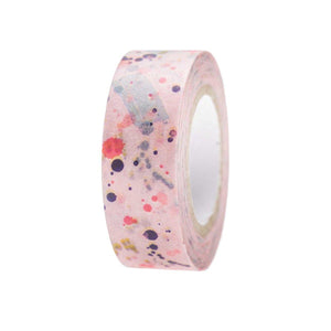 Paint Splatter Washi Tape-Washi Tape-paper poetry-nóta póca
