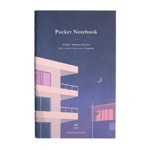 Pocket Notebook Evening - Plain
