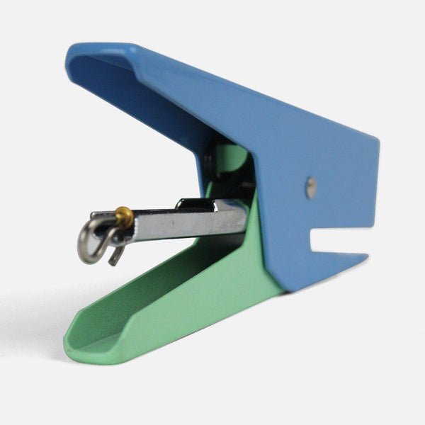 The Stapler - Blue / Green-staplers-Papier Tigre-nóta póca
