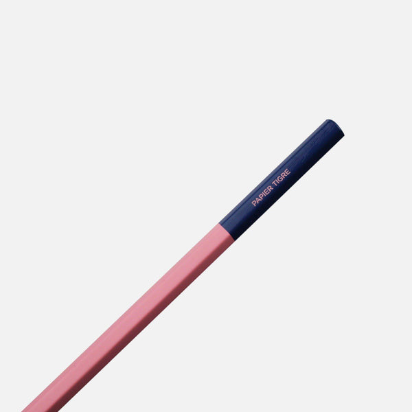 Two Tone Pencil-pencils-Papier Tigre-Pink / Navy-nóta póca