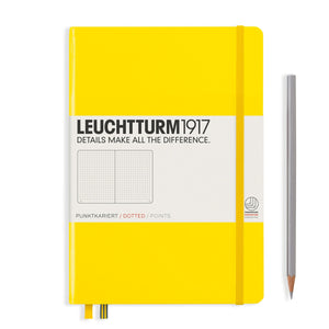 Leuchtturm1917 A5 Hardcover Notebook in Lemon