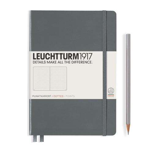 Leuchtturm1917 A5 Hardcover Notebook in Anthracite Grey