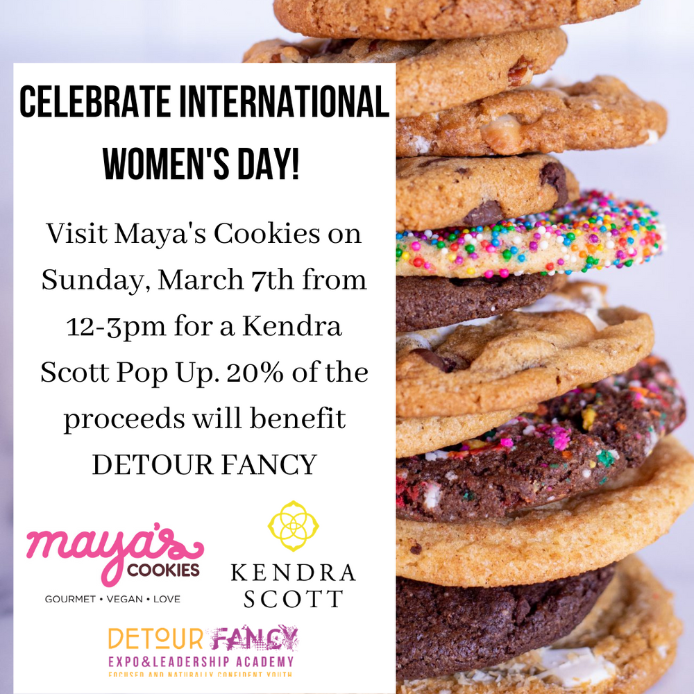 Kendra Scott + Maya's Cookies Team Up for International Women's Day to GIVE BACK!
