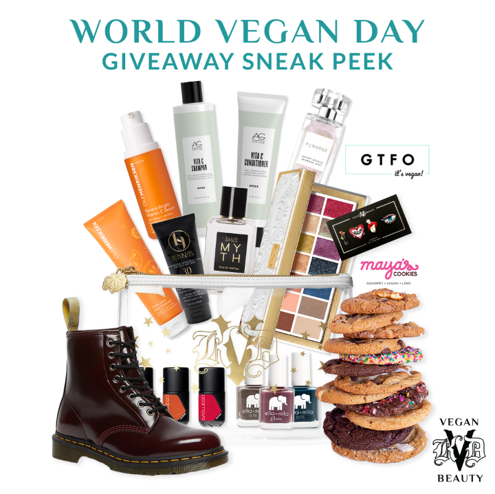 KVD Vegan Beauty Goes Big on World Vegan Day November 1st with Exclusive Offers at Ulta Beauty, Super Sweeps and More Celebrating All Things Vegan, All Day Long