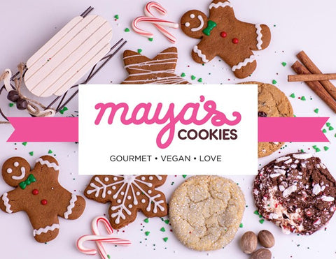 Maya's Cookies Holiday Gift Guide Black-owned Female owned businesses